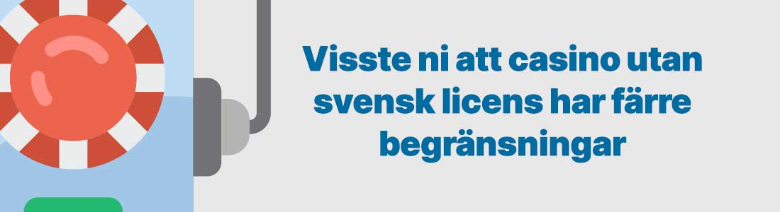 casino utan svensk licens tips